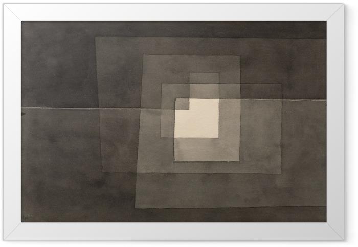Gerahmtes Poster Paul Klee - Zwei Gänge - Reproduktion