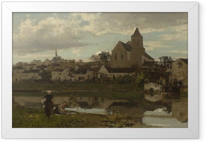 Poster en cadre Jacob Maris - Vue à Montigny - Reproductions