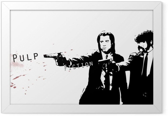 Pulp Fiction Framed Poster - Criteo