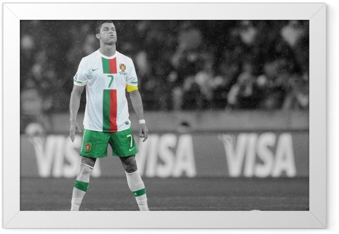 Cristiano Ronaldo Framed Poster - Cristiano Ronaldo