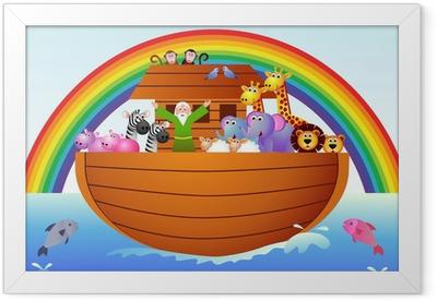 Noah's Ark Framed Poster