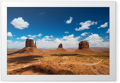 Monument Valley Framed Poster