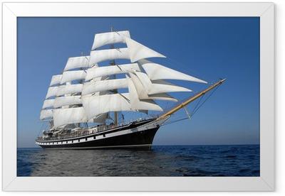 Sailing ship Framed Poster