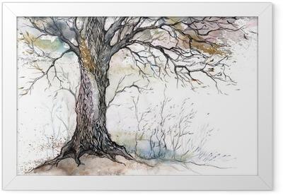 old tree Framed Poster
