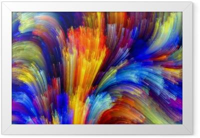 Colorful Background Framed Poster