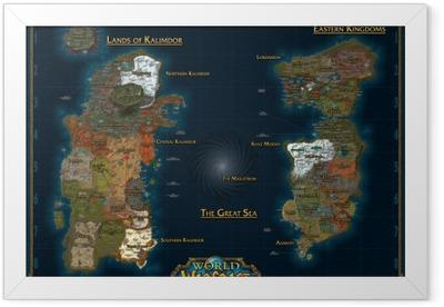 World of Warcraft Framed Poster