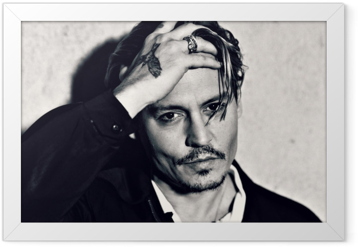 Johnny Depp Framed Poster - Criteo