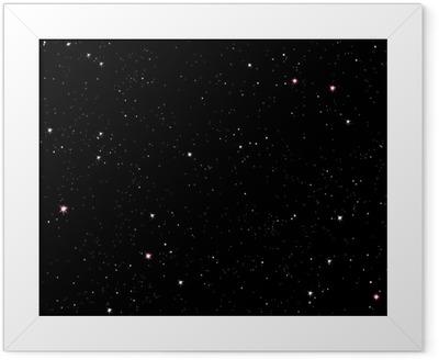 Starry night Framed Poster