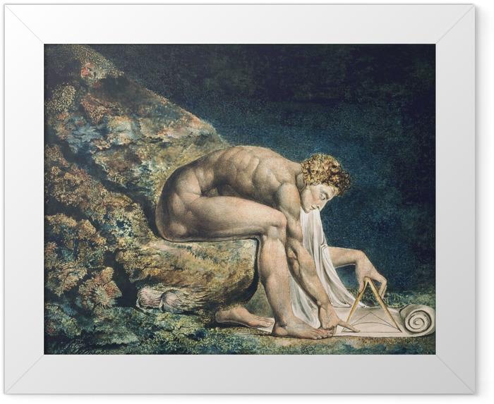 Poster en cadre William Blake - Newton - Reproductions