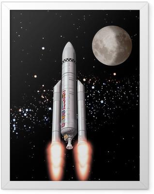 Weltraum Framed Poster