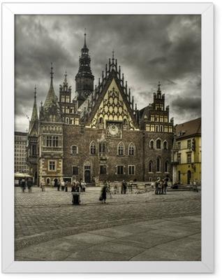 wroclaw- rynek Framed Poster