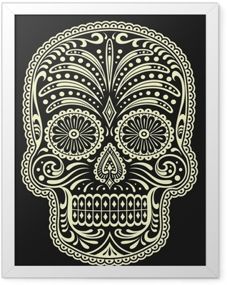 Sugar Skull Framed Poster