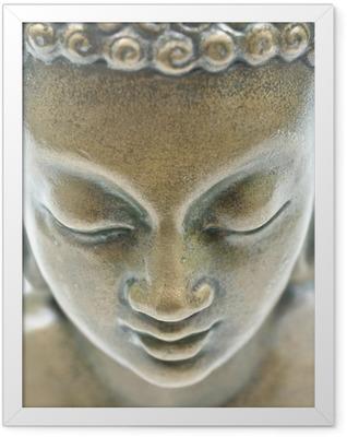 Buddha portrait Framed Poster