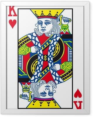 Herz König Framed Poster