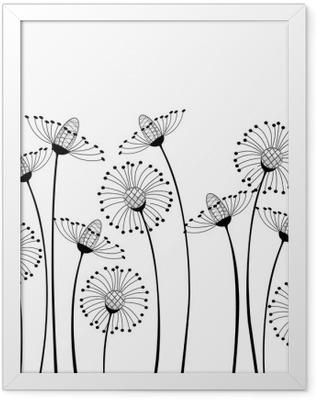 meadow flowers Framed Poster