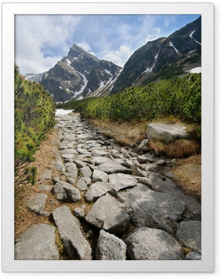 Polish Tatra mountains Framed Poster