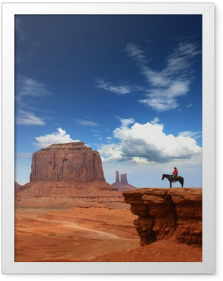 Monument Valley Framed Poster