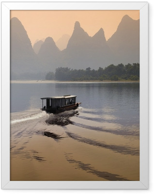 Li River - Guilin - China Framed Poster