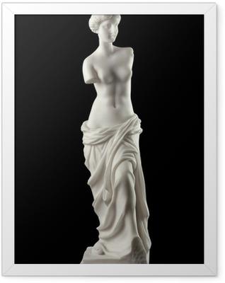 Aphrodite of Milos , goddess of love and beauty Framed Poster