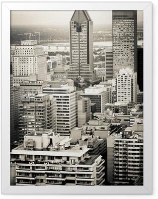 Montreal city Framed Poster