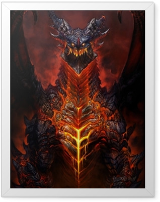 World of Warcraft Framed Poster