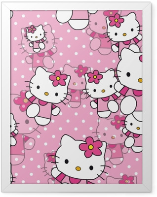 Hello Kitty Framed Poster