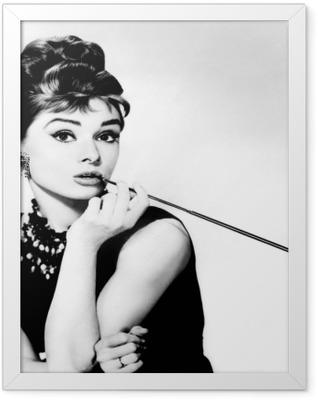 Audrey Hepburn Framed Poster