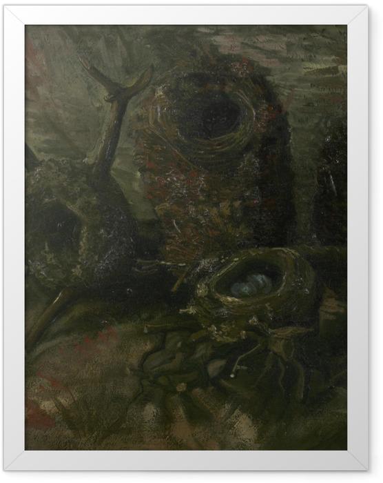 Plakat w ramie Vincent van Gogh - Ptasie gniazda - Reproductions