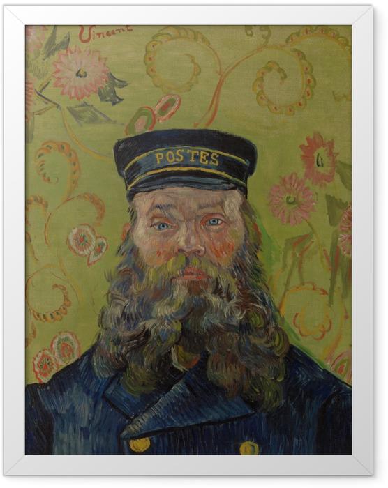 Gerahmtes Poster Vincent van Gogh - Joseph-Etienne Roulin - Reproductions