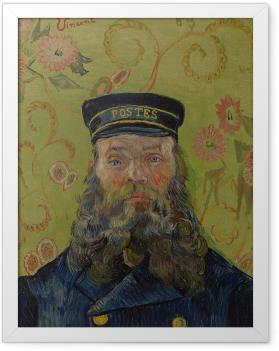 Plakat w ramie Vincent van Gogh - Joseph-Etienne Roulin - Reproductions