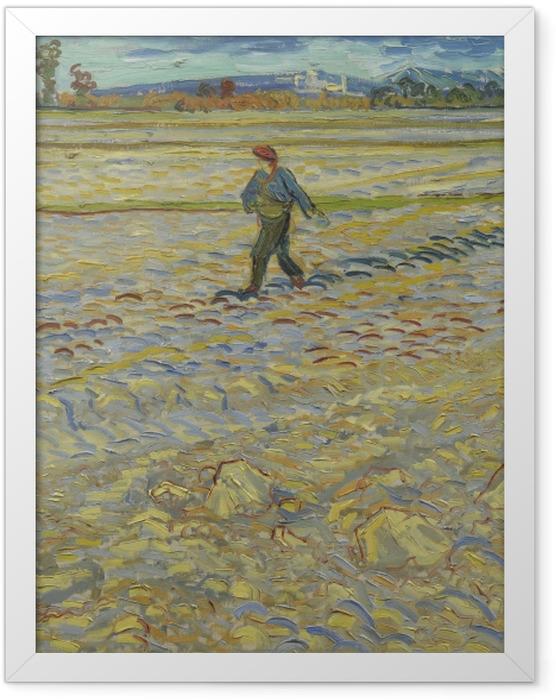 Poster en cadre Vincent van Gogh - Le Seumer - Reproductions