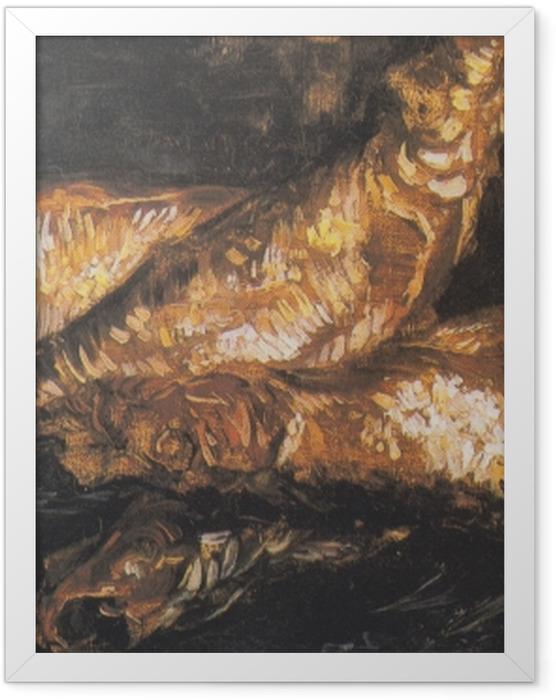 Poster en cadre Vincent van Gogh - Nature morte avec bouffis - Reproductions