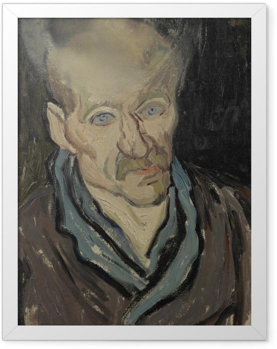 Plakat w ramie Vincent van Gogh - Portret pacjenta szpitala św. Pawła - Reproductions