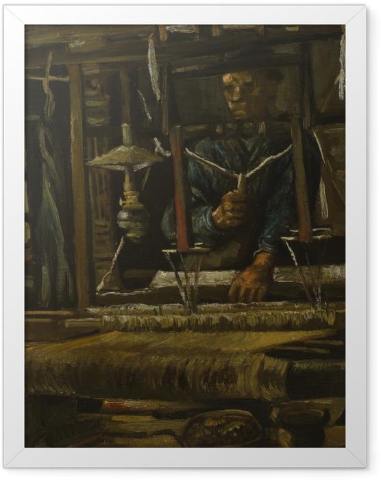 Poster en cadre Vincent van Gogh - Tisserand - Reproductions