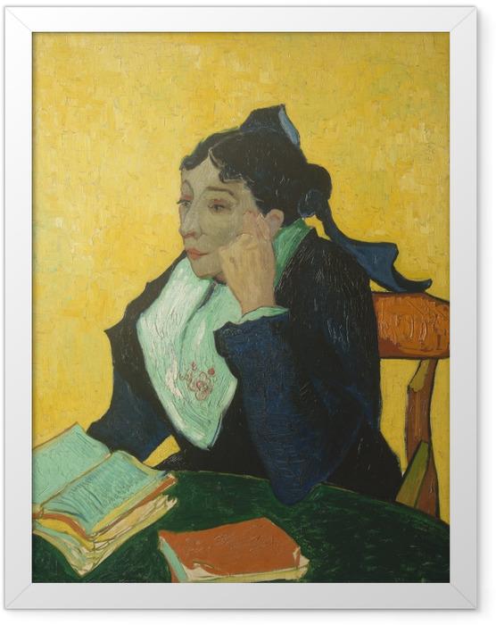 Plakat w ramie Vincent van Gogh - Arlezjanka - Reproductions
