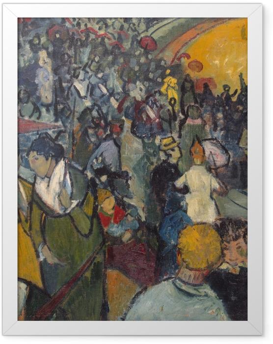 Poster en cadre Vincent van Gogh - Les Arènes d'Arles - Reproductions