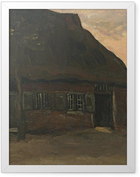 Plakat w ramie Vincent van Gogh - Gospodarstwo w Nuenen - Reproductions
