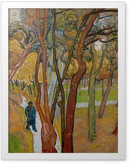 Poster en cadre Vincent van Gogh - La chute des feuilles - Reproductions
