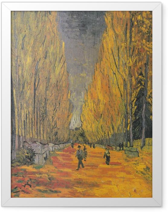 Poster en cadre Vincent van Gogh - Les Alyscamps - Reproductions