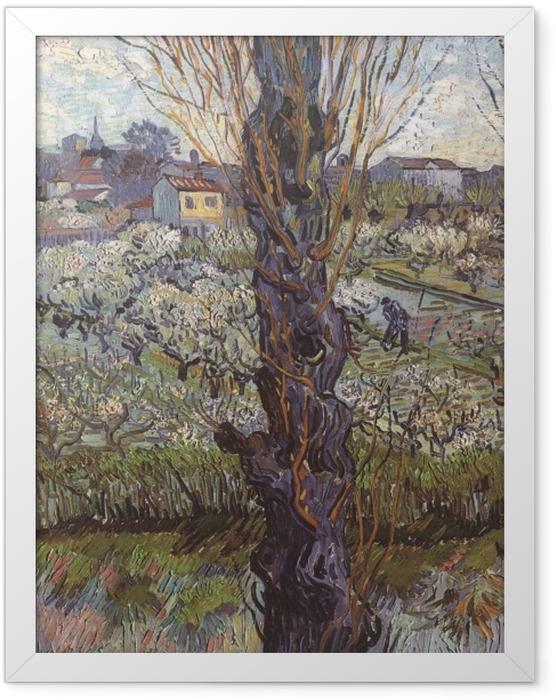 Plakat w ramie Vincent van Gogh - Widok na Arles - Reproductions