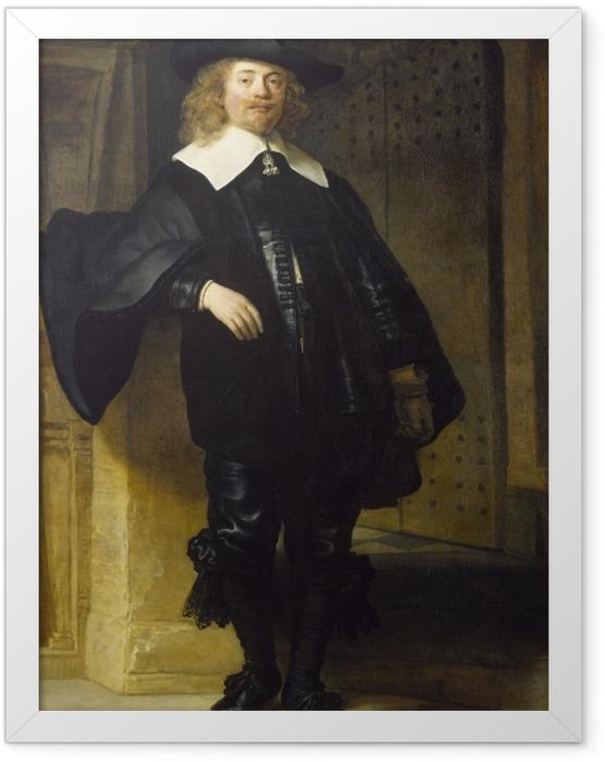 Plakat w ramie Rembrandt - Portret Andriesa de Graeff - Reprodukcje