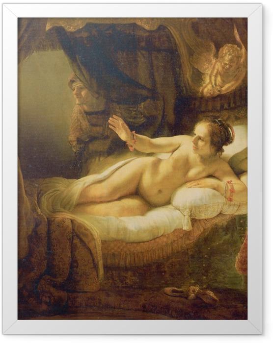 Plakat w ramie Rembrandt - Danae - Reprodukcje