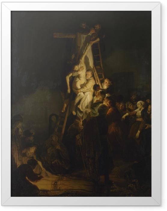 Poster en cadre Rembrandt - La Descente de Croix - Reproductions