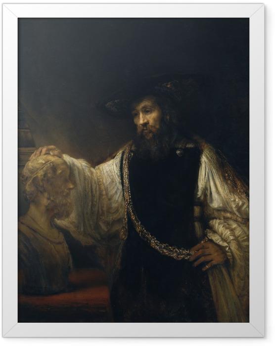 Plakat w ramie Rembrandt - Arystoteles - Reprodukcje