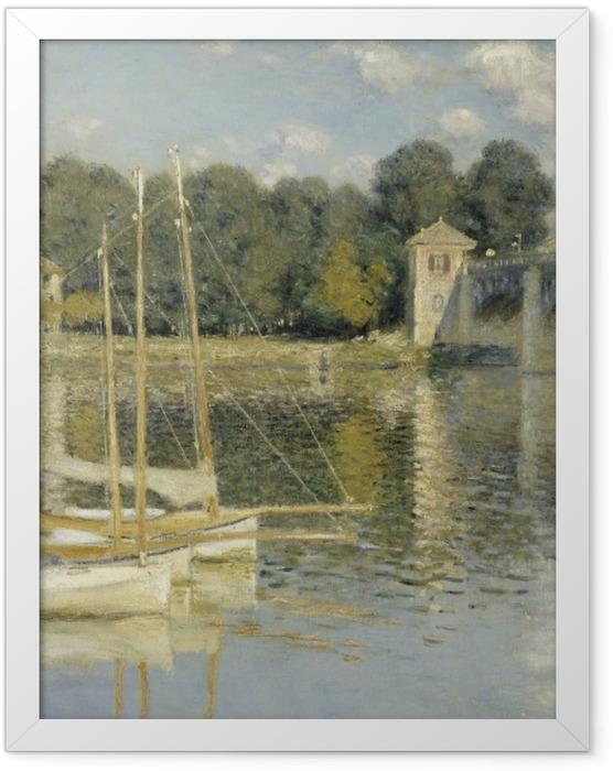 Poster en cadre Claude Monet - Le Pont d'Argenteuil - Reproductions