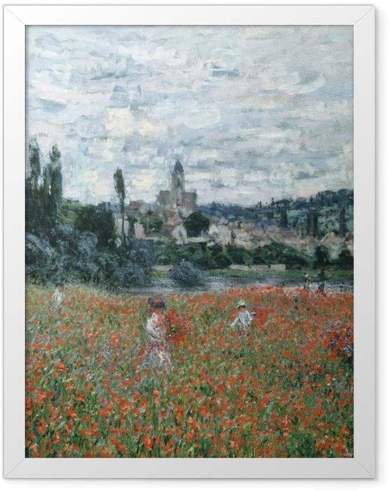 Plakat w ramie Claude Monet - Pole maków - Reprodukcje