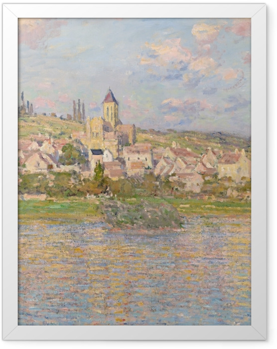 Plakat w ramie Claude Monet - Vetheuil - Reprodukcje