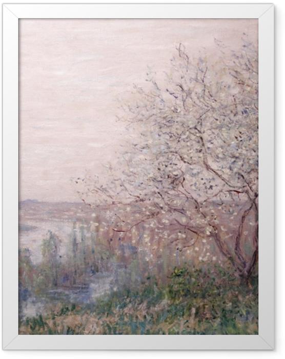 Poster en cadre Claude Monet - Printemps - Reproductions