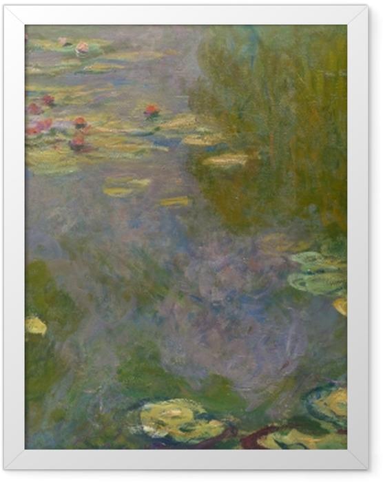 Plakat w ramie Claude Monet - Staw z nenufarami - Reprodukcje