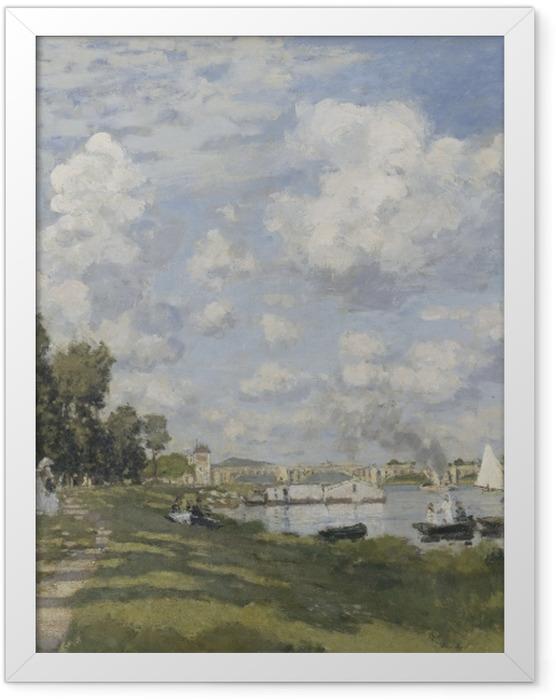 Poster en cadre Claude Monet - Le Bassin Argenteuil - Reproductions